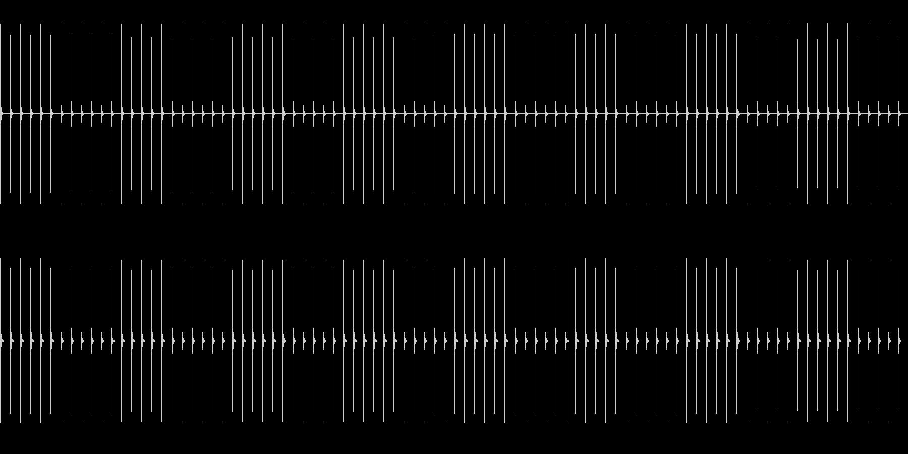 振り子式メトロノーム08-Moderatの未再生の波形