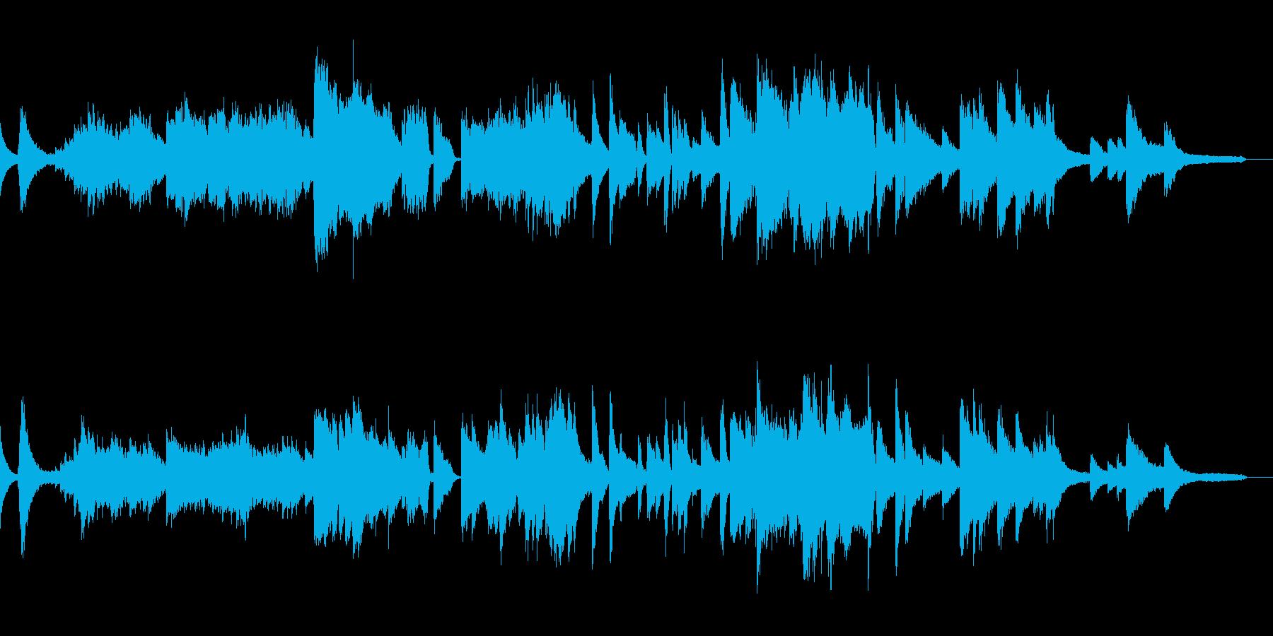 印象的ミステリアスなジャズピアノバラードの再生済みの波形