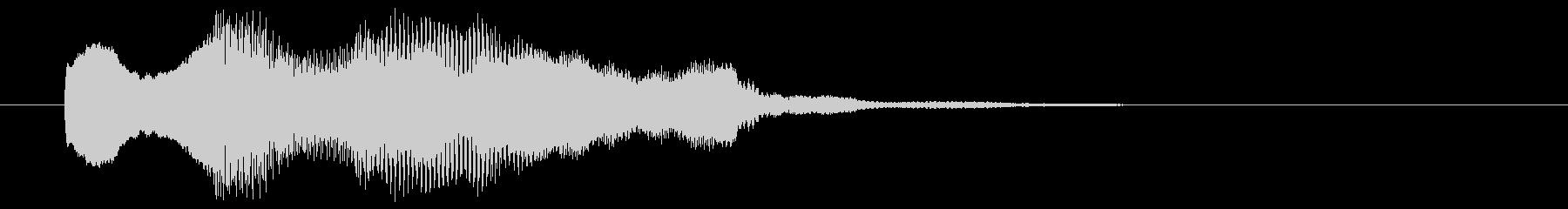 8ビット風システム音-03-2_dryの未再生の波形