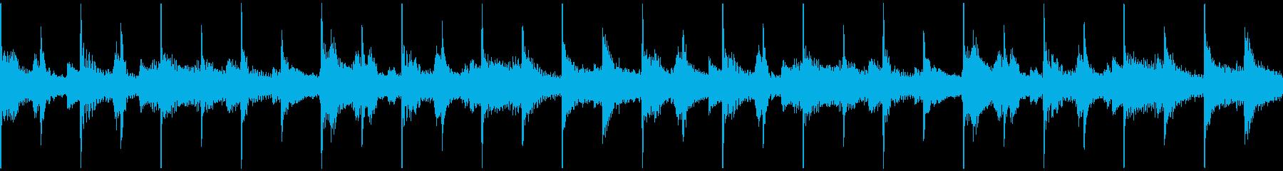30秒ループ臨場感ジャズ サックス無しの再生済みの波形