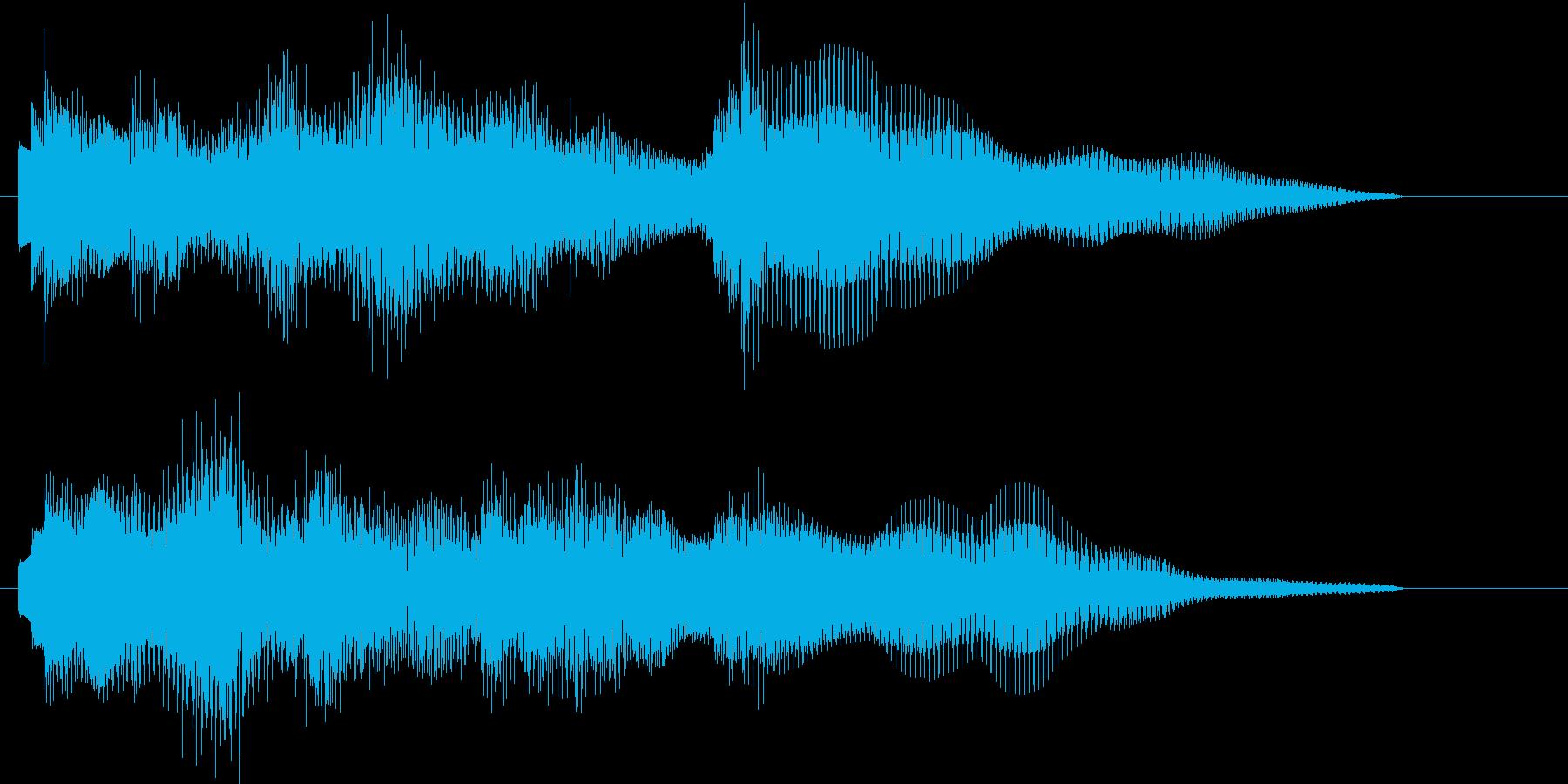 ジングル/切ない/チャレンジ失敗系の再生済みの波形