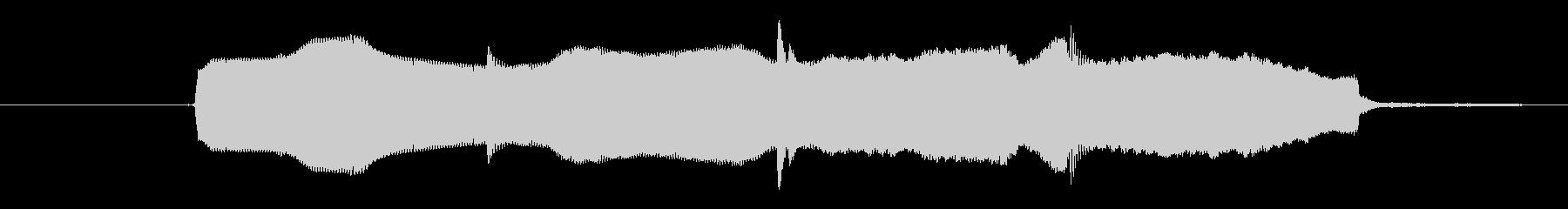 ヒント効果音 ひらめき 正解 キラキラの未再生の波形