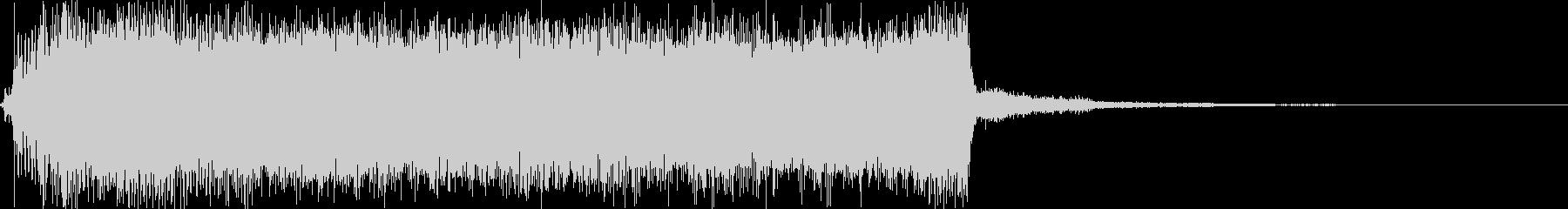チェーンソーの音の未再生の波形