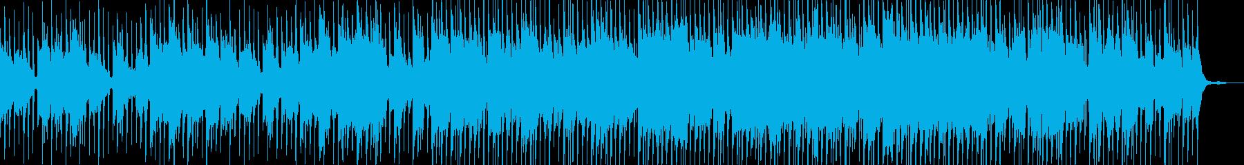 ノリが良いコミカルでpopなハウスの再生済みの波形