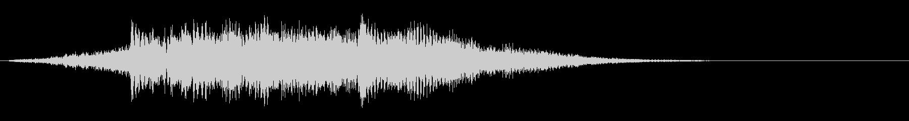 ジングル、サウンドロゴ POP01の未再生の波形