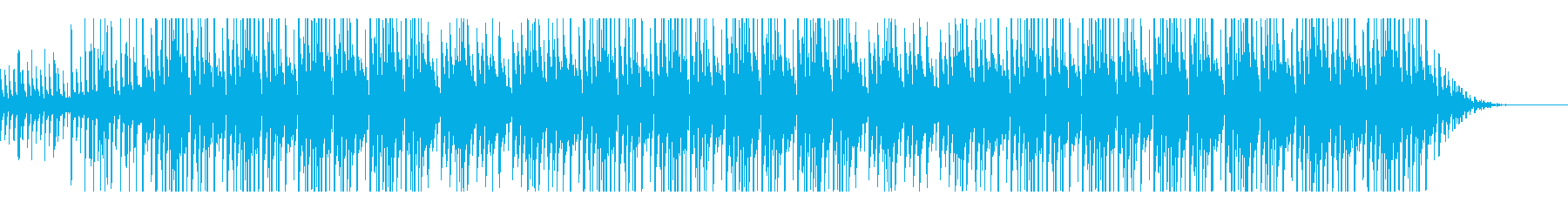 中東をイメージしたTrapビートの再生済みの波形