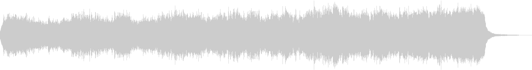 Mysterious, mysterious and fantastic dungeon BGM's unreproduced waveform