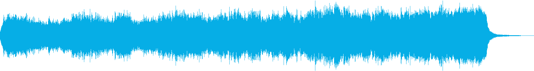 Mysterious, mysterious and fantastic dungeon BGM's reproduced waveform