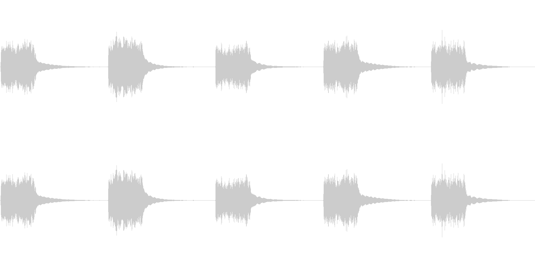 1980年代の電話番号:ベルリングの未再生の波形