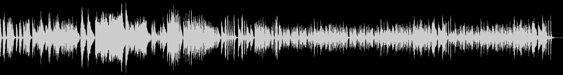 アイネクライネ軽快で繊細なソロピアノEDの未再生の波形