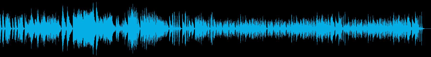 アイネクライネ軽快で繊細なソロピアノEDの再生済みの波形