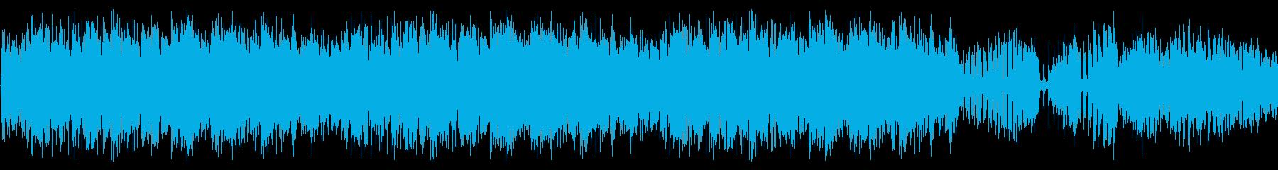 【ホラー/ダークファンタジー/予感】の再生済みの波形