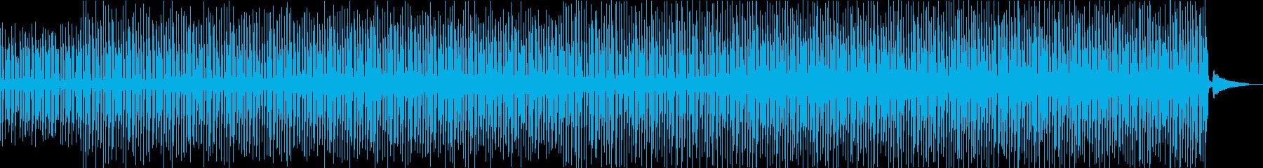 アウトドア・元気で活発なマリンバのポップの再生済みの波形