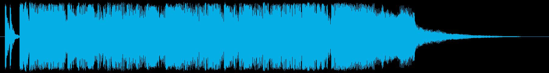 コーナータイトル_USA_POPの再生済みの波形
