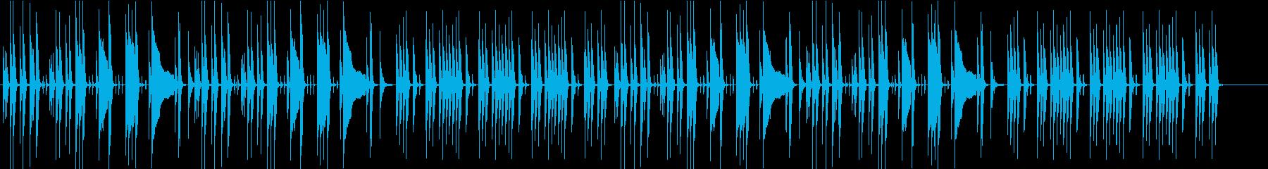 日常系のおちついた劇判の再生済みの波形