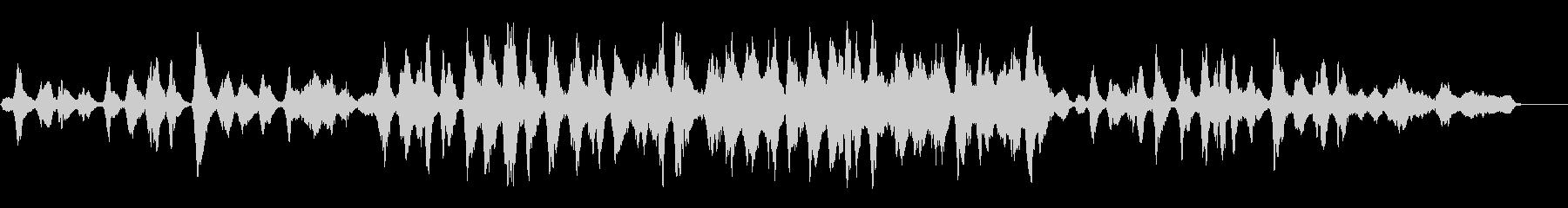無伴奏チェロを生演奏でグリーンスリーヴスの未再生の波形