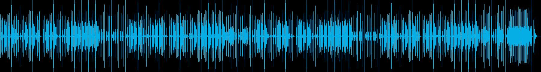 ほのぼの ほんわかなBGMの再生済みの波形