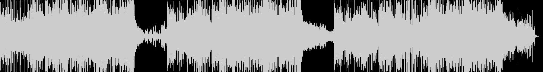 ヘビーなエレクトロロックの未再生の波形