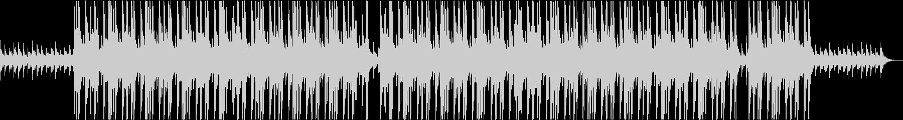 怪しく暗い雰囲気のトラップの未再生の波形