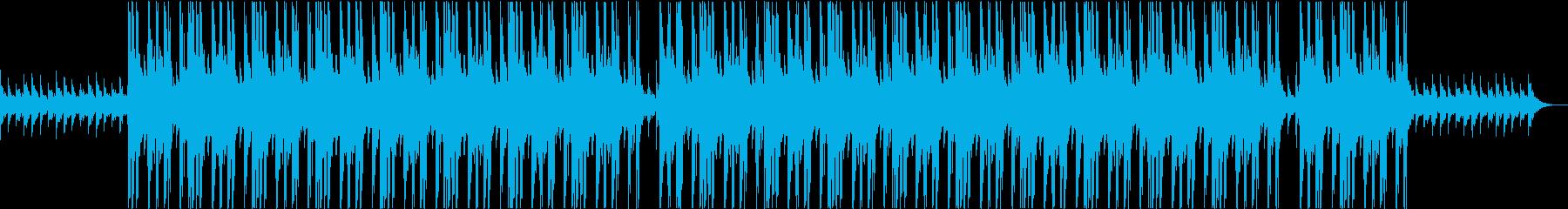 怪しく暗い雰囲気のトラップの再生済みの波形