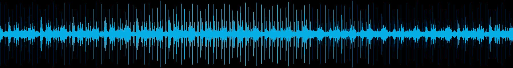 幻想的なlo-fiサウンドの再生済みの波形
