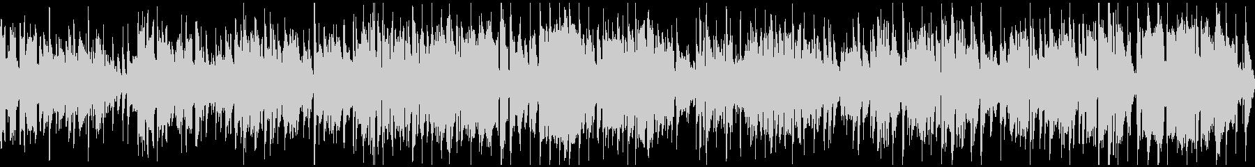 ウキウキするジャズファンク※ループ仕様版の未再生の波形