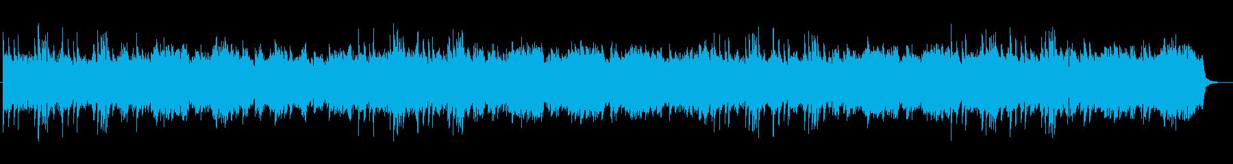 長閑でポップなBGMの再生済みの波形