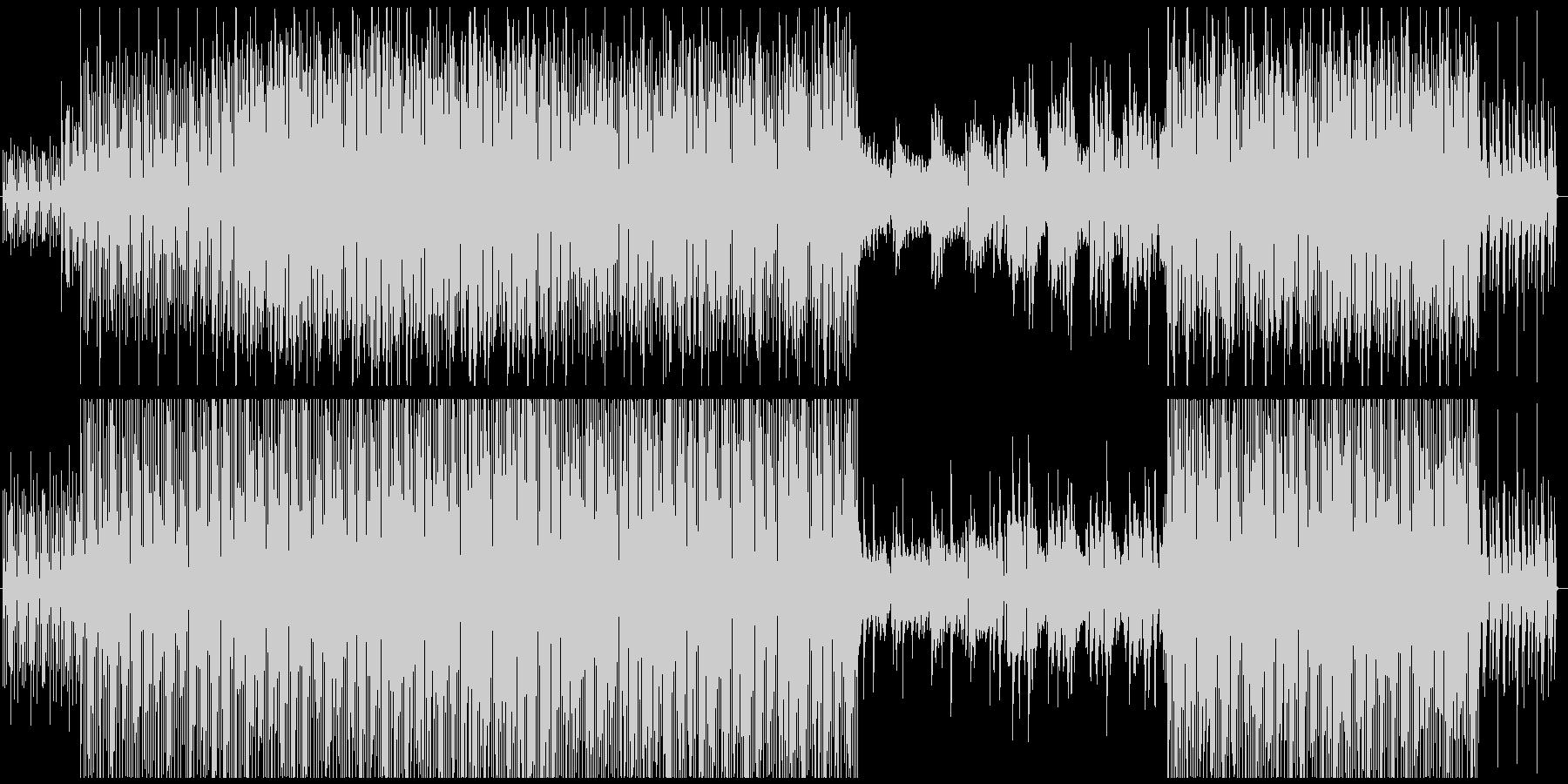 ボサノバ風キュートなエレクトロポップの未再生の波形