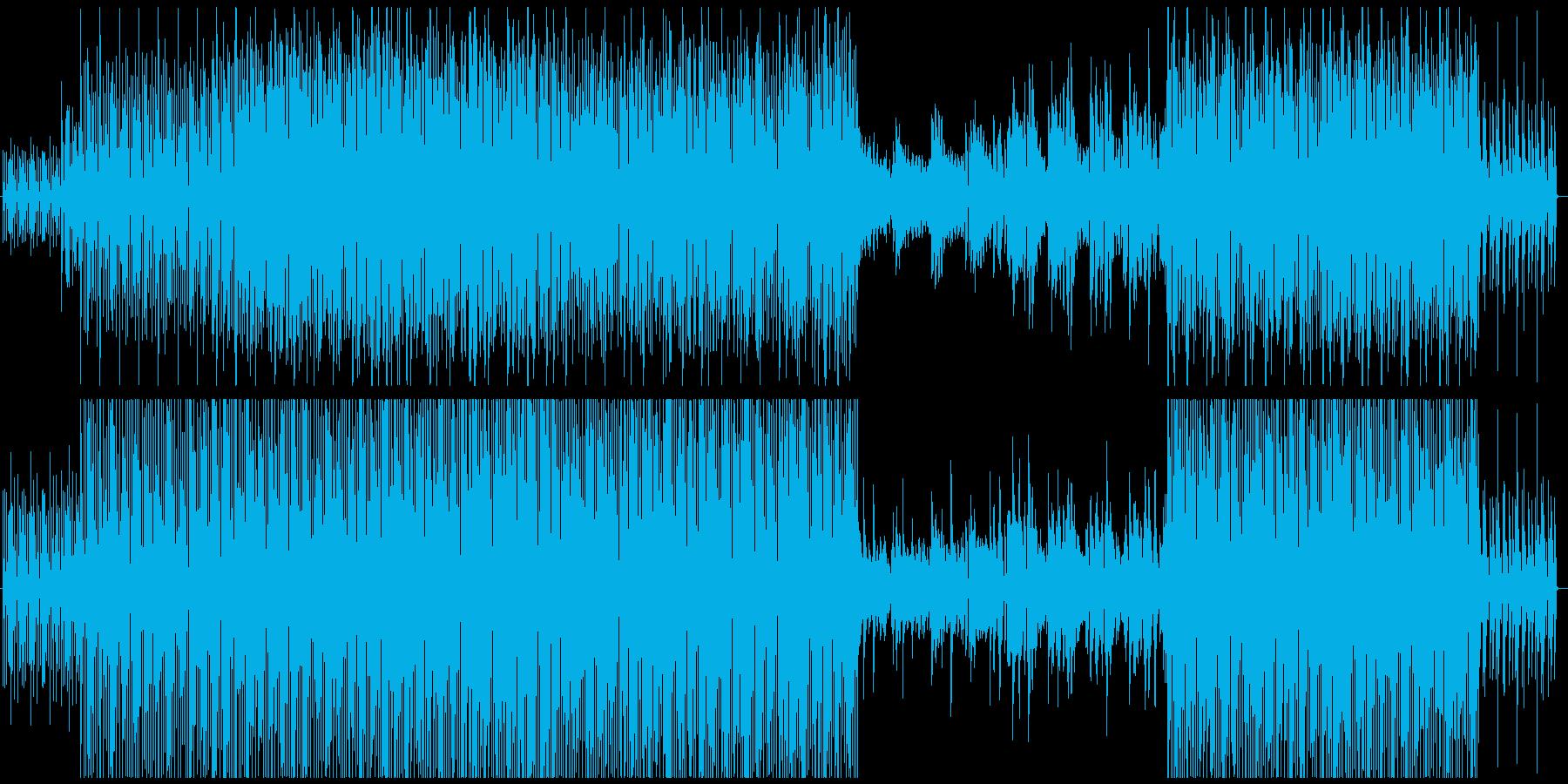 ボサノバ風キュートなエレクトロポップの再生済みの波形