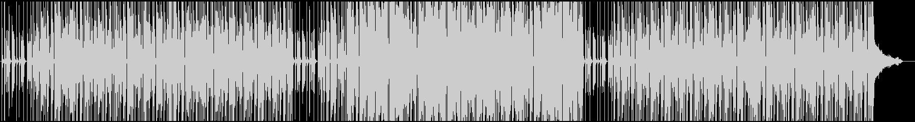 ハードボイルド調のユニゾンギターリフの未再生の波形