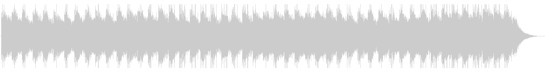 大正琴の日本イメージの曲のメロ抜きの未再生の波形