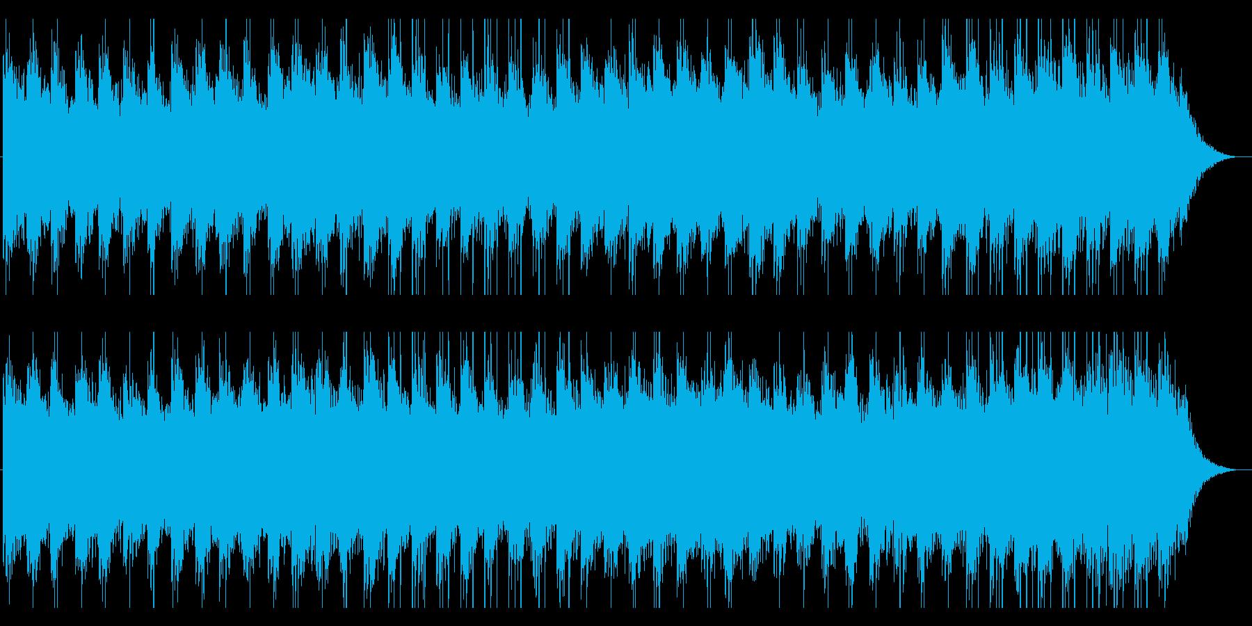 大正琴の日本イメージの曲のメロ抜きの再生済みの波形