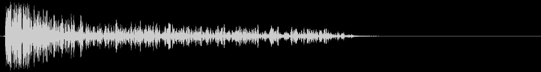 バズーカ砲の効果音、バズーカ砲、キャノ…の未再生の波形