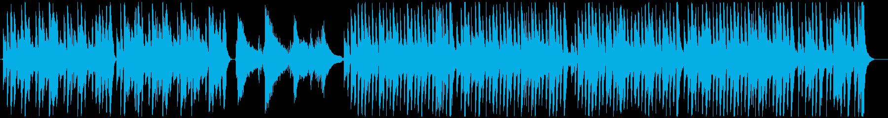 マンドリンとギターをフィーチャーし...の再生済みの波形