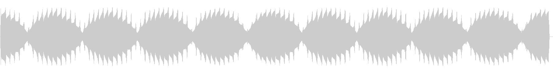 ウィーンプルプル(ワープエンジン音)の未再生の波形