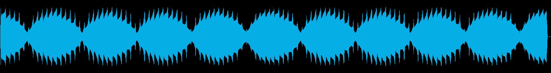 ウィーンプルプル(ワープエンジン音)の再生済みの波形