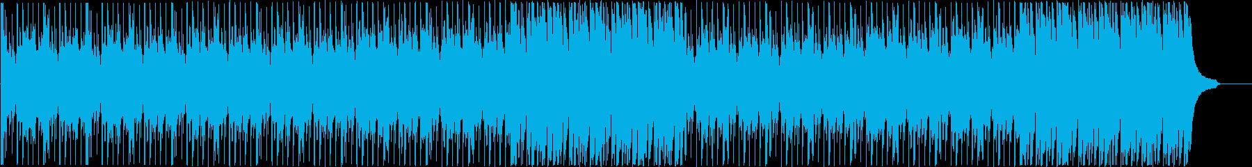 企業VPに 感動・わくわく ピアノメインの再生済みの波形