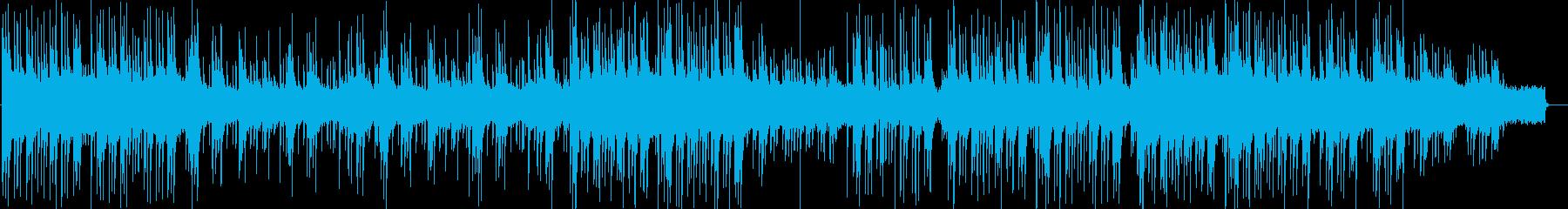 ほのぼのとして楽しげな【和風】BGM の再生済みの波形
