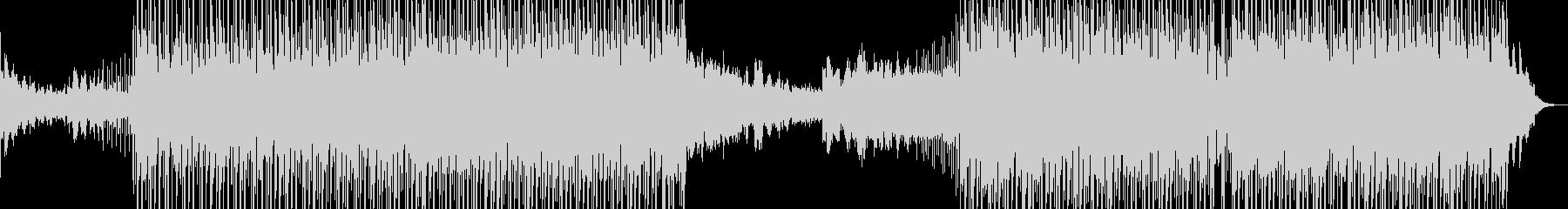 歌詞のトランペットとドラムとベースの未再生の波形