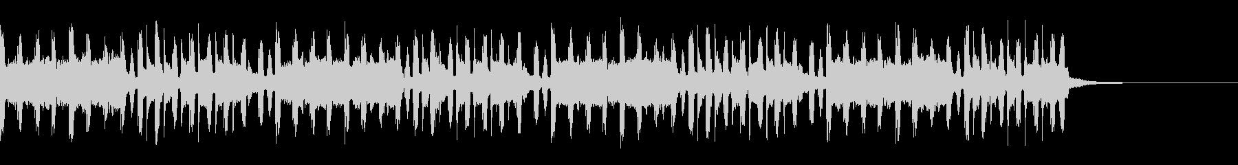 【30秒】緊迫感のあるBGMの未再生の波形