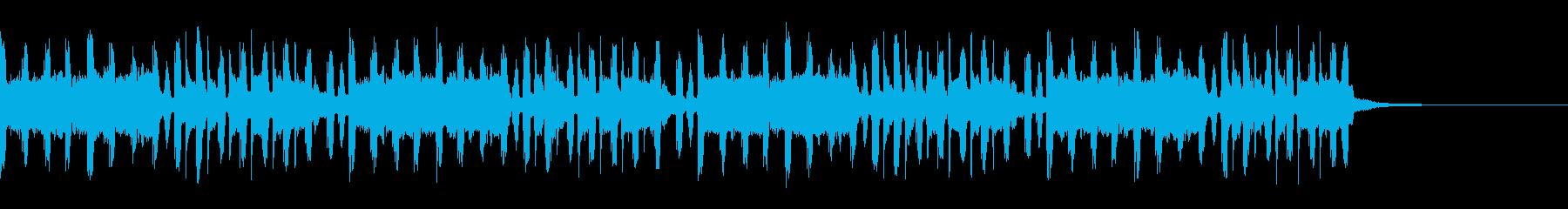 【30秒】緊迫感のあるBGMの再生済みの波形