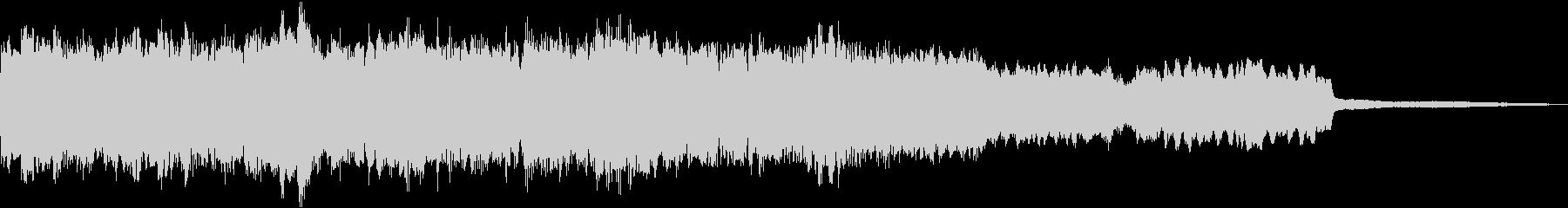ピアノ、コントラバス、チェロ、ヴァ...の未再生の波形