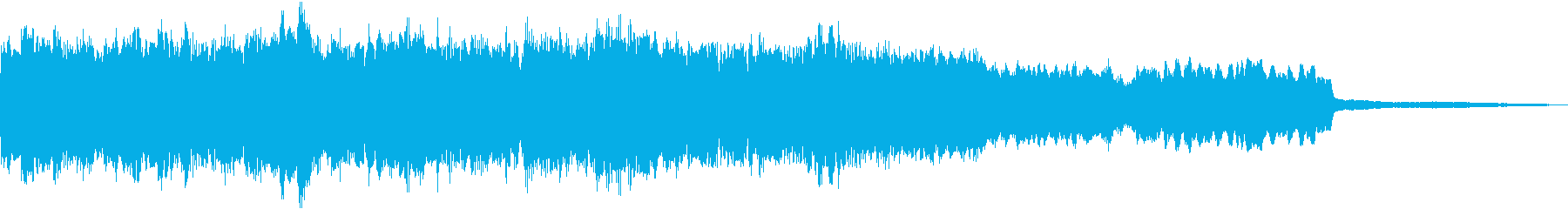 ピアノ、コントラバス、チェロ、ヴァ...の再生済みの波形
