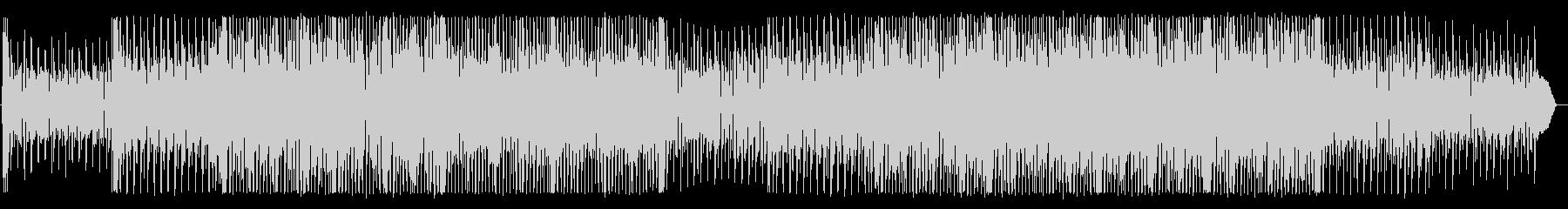 CMにぴったりの明るいロックBGMの未再生の波形