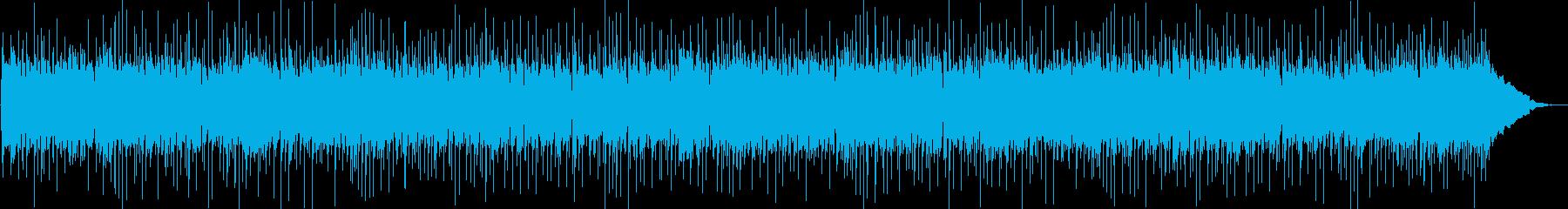 80年代スタイルのロックサウンドス...の再生済みの波形