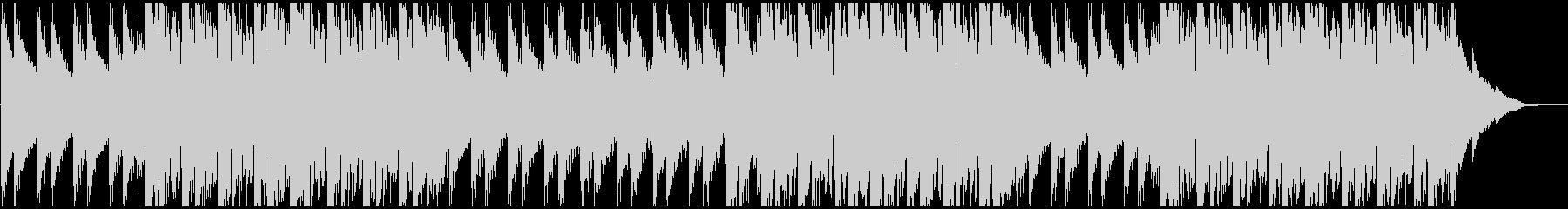 ドラム抜きのパターンの未再生の波形