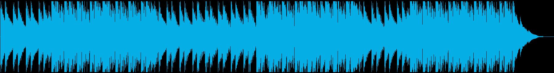 ドラム抜きのパターンの再生済みの波形