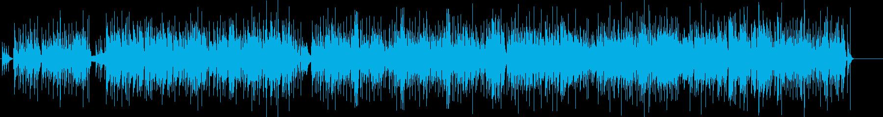エキゾチックな音色のオーケストラ楽...の再生済みの波形