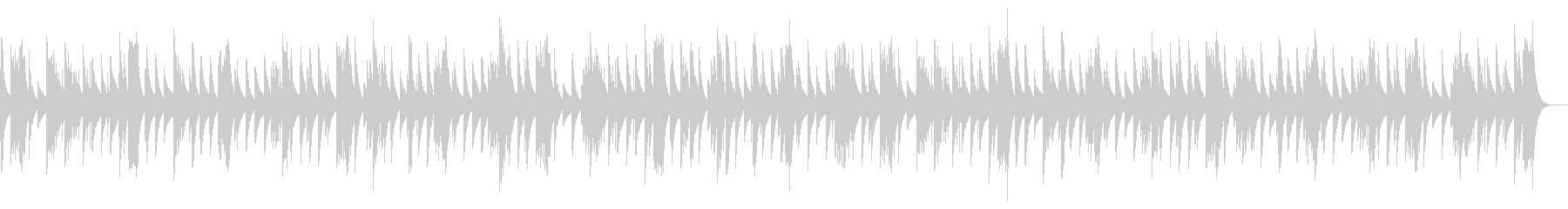グノシエンヌ No.5_オルゴールverの未再生の波形