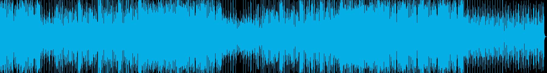 疾走感のあるストリングステクノのんの再生済みの波形